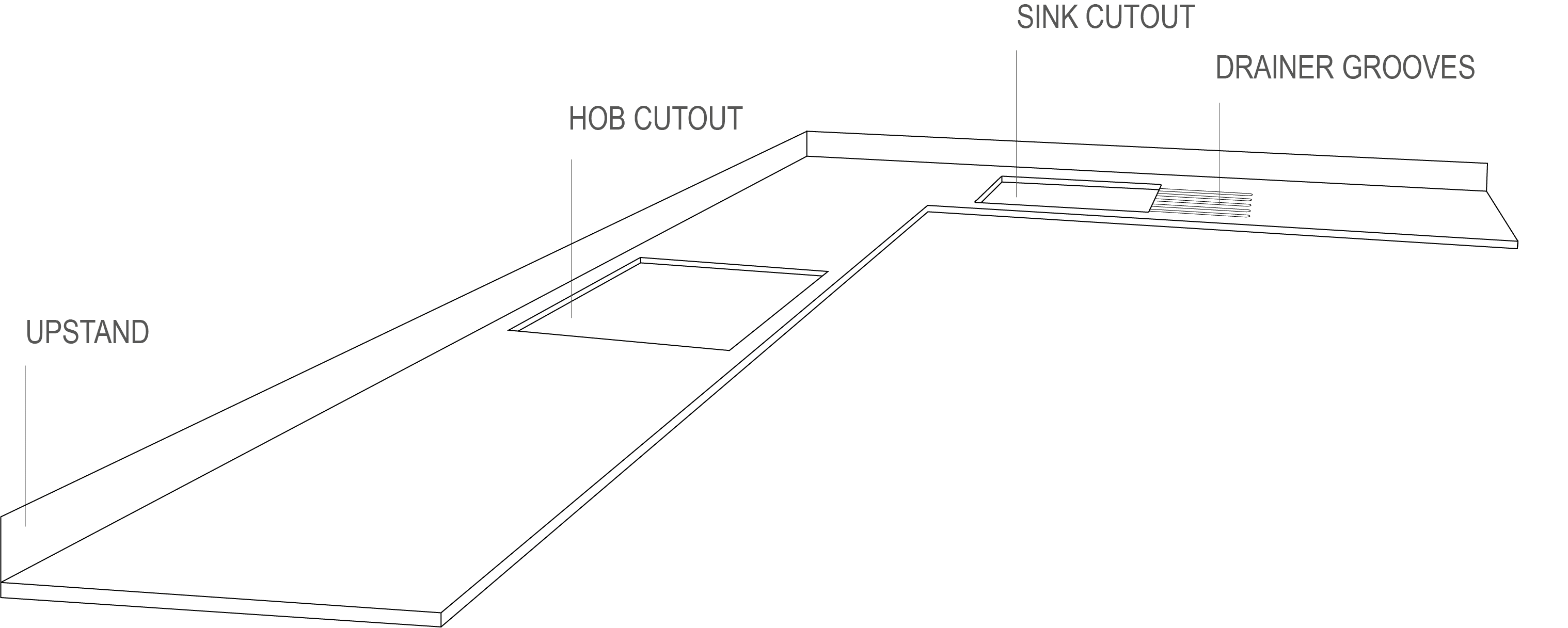 Perspective drawing-L-Shape